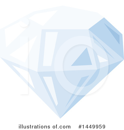 Diamond Clipart #1449959 by Vector Tradition SM