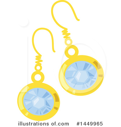 Royalty-Free (RF) Jewelry Clipart Illustration by Vector Tradition SM - Stock Sample #1449965