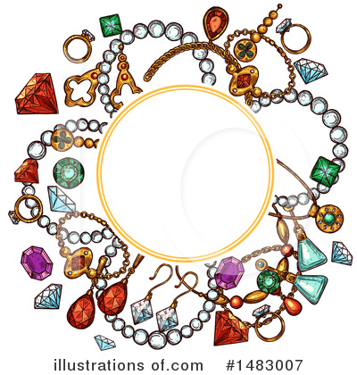 Diamond Clipart #1483007 by Vector Tradition SM