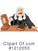 Judge Clipart #1212053 by Pushkin