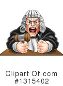 Judge Clipart #1315402 by AtStockIllustration