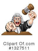 Judge Clipart #1327511 by AtStockIllustration