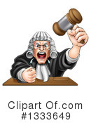 Judge Clipart #1333649 by AtStockIllustration