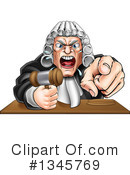 Judge Clipart #1345769 by AtStockIllustration
