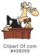 Judge Clipart #438069 by toonaday