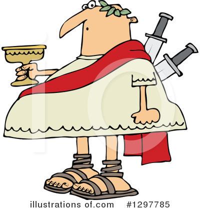 julius caesar clipart 1297785 illustration by djart rh illustrationsof com