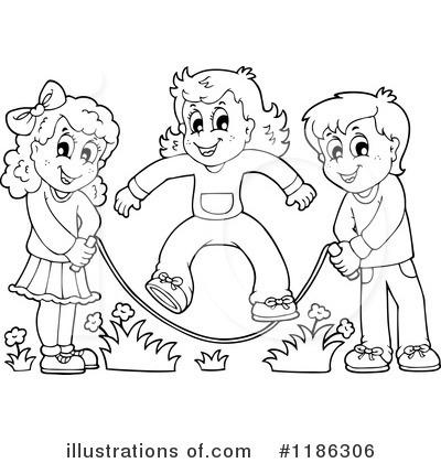 Jump Rope Clipart #1186306 - Illustration by visekart