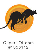 Kangaroo Clipart #1356112 by Maria Bell