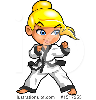 Karate Clipart 1517255 Illustration By Clip Art Mascots
