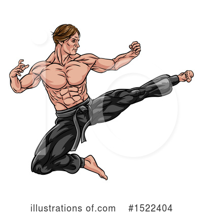 Fighter Clipart #1522404 by AtStockIllustration