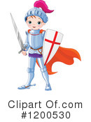 Knight Clipart #1200530 by Pushkin
