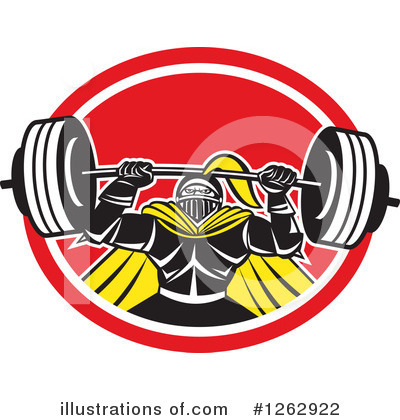 Weightlifting Clipart #1262922 by patrimonio