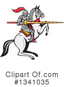 Knight Clipart #1341035 by patrimonio