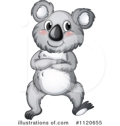 Koala Clipart #1120655 - Illustration by colematt