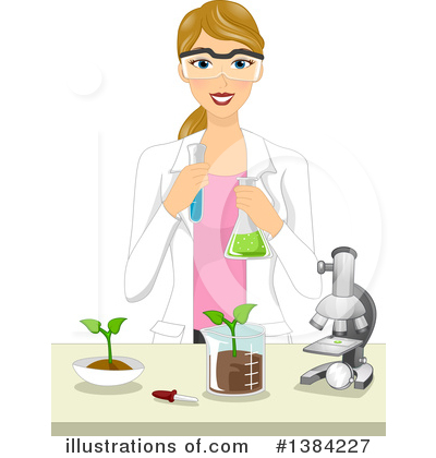 Scientist Clipart #1384227 by BNP Design Studio