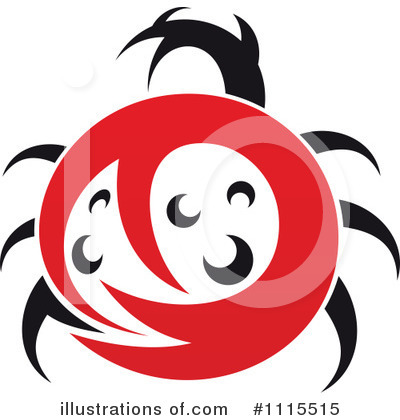 Ladybug Clipart #1115515 by Vector Tradition SM