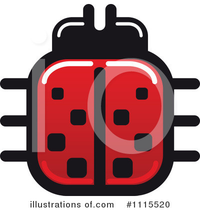 Ladybug Clipart #1115520 by Vector Tradition SM