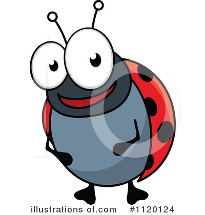 Ladybug Clipart #1120124 by Vector Tradition SM