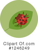 Ladybug Clipart #1246249 by BNP Design Studio