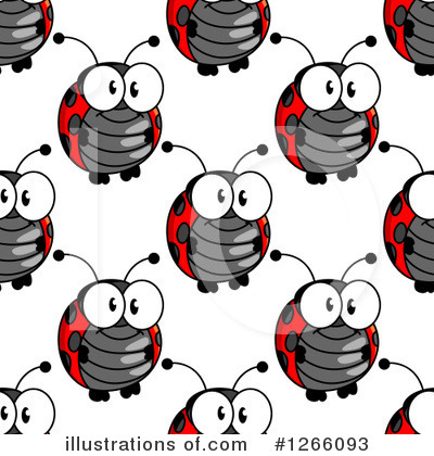 Ladybug Clipart #1266093 by Vector Tradition SM