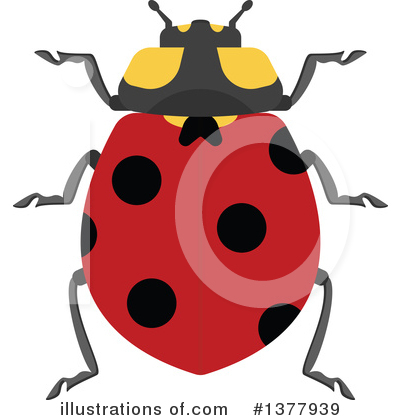 Ladybug Clipart #1377939 by Vector Tradition SM