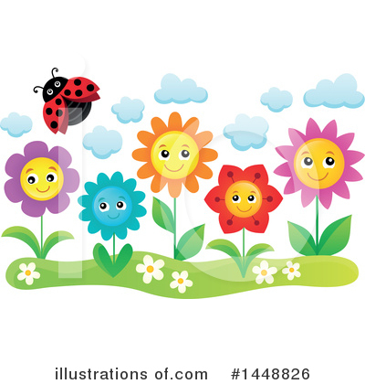 Flower Clipart #1448826 by visekart