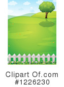 Landscape Clipart #1226230 by Graphics RF
