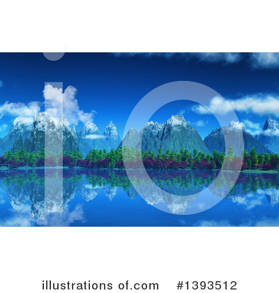 Mountains Clipart #1393512 by KJ Pargeter