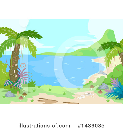 Palm Trees Clipart #1436085 by BNP Design Studio