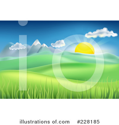 Sunshine Clipart #228185 by AtStockIllustration