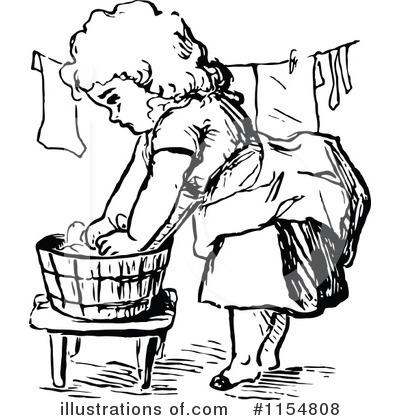 Laundry Clipart 1154808 Illustration By Prawny Vintage