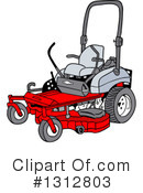 Lawn Mower Clipart #1312803 by LaffToon
