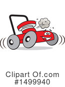 Lawn Mower Clipart #1499940 by Johnny Sajem