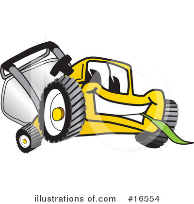 Lawn Mower Clipart #16554 by Toons4Biz