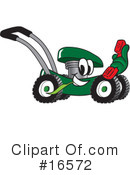 Lawn Mower Clipart #16572 by Toons4Biz