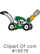 Lawn Mower Clipart #16575 by Toons4Biz