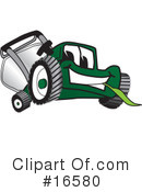 Lawn Mower Clipart #16580 by Toons4Biz