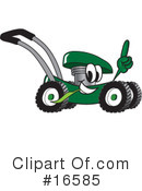 Lawn Mower Clipart #16585 by Toons4Biz