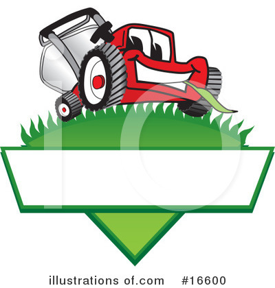 Lawn Mower Clipart #16600 by Toons4Biz