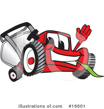 Lawn Mower Clipart #16601 by Toons4Biz
