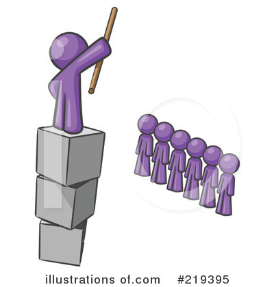 Royalty-Free (RF) Leadership Clipart Illustration by Leo Blanchette ...