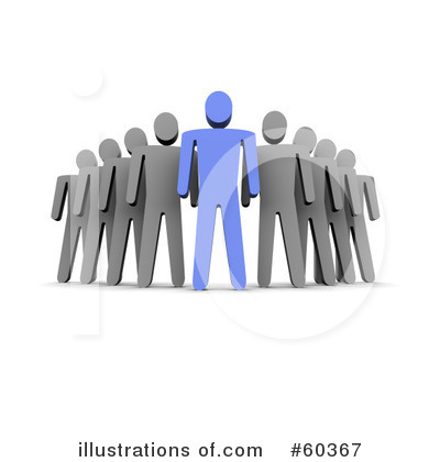 Leadership Clipart #60367 - Illustration by Jiri Moucka