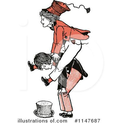 Leap Frog Clipart #1147687 - Illustration by Prawny Vintage