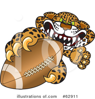 Cheetah Character Clipart #62911 by Toons4Biz