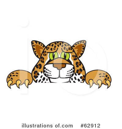 Cheetah Character Clipart #62912 by Toons4Biz