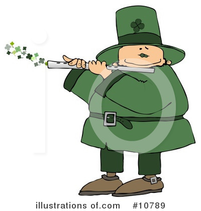 Leprechaun Clipart #10789 by djart