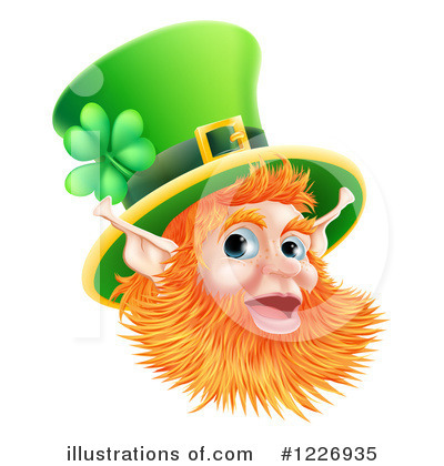 Leprechaun Clipart #1226935 by AtStockIllustration