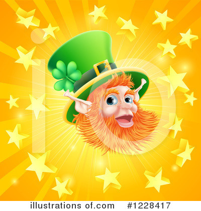 Leprechaun Clipart #1228417 by AtStockIllustration