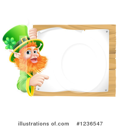 Leprechaun Clipart #1236547 by AtStockIllustration