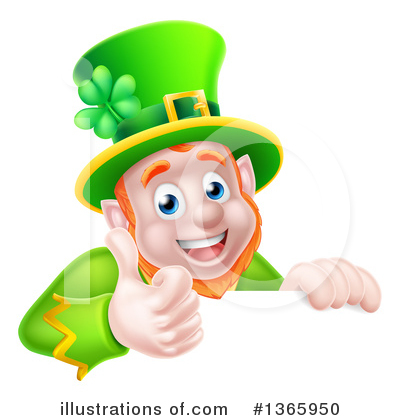 Leprechaun Clipart #1365950 by AtStockIllustration